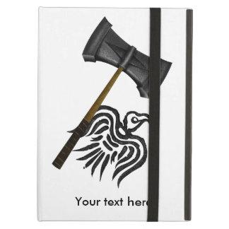 トールのバイキングの戦いのハンマー iPad AIRケース