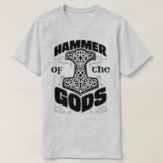 トールの神のバイキングのOdinのNorseのティーのハンマー Tシャツ