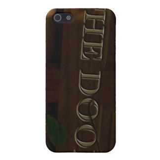 ドアのiPhoneの例 iPhone SE/5/5sケース