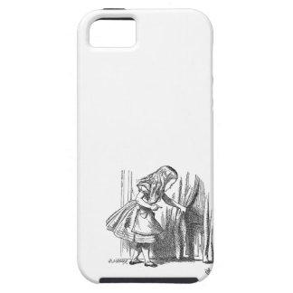 ドアを捜す不思議の国のヴィンテージアリス iPhone SE/5/5s ケース
