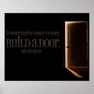 ドアを造って下さい ポスター