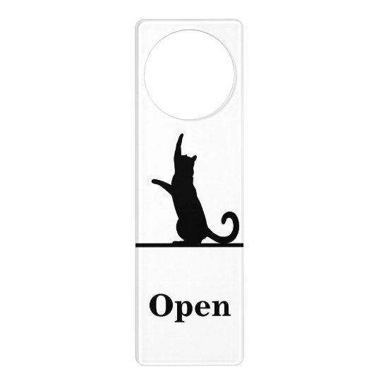 ドア猫 ドアノブプレート