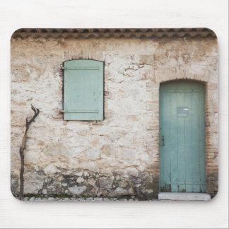 ドア、窓、杖 マウスパッド