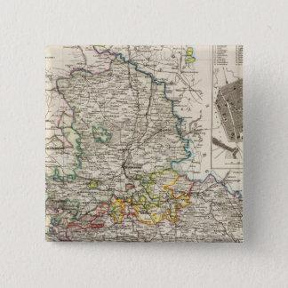 ドイツおよびプロシア 5.1CM 正方形バッジ