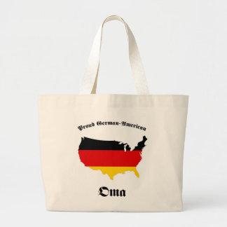 ドイツのアメリカ人Oma -おばあさん-祖母 ラージトートバッグ