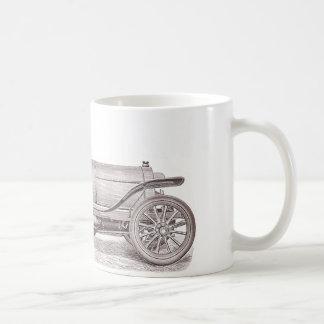 ドイツのクラシックな車メルセデスカミーユJenatzy コーヒーマグカップ