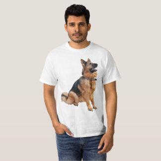 ドイツのシェパードのワイシャツ Tシャツ