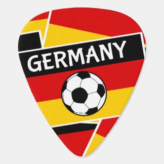 ドイツのフラグフットボール ギターピック