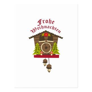 ドイツのメリークリスマス ポストカード