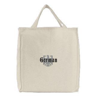 ドイツのワシによって刺繍されるバッグ 刺繍入りトートバッグ