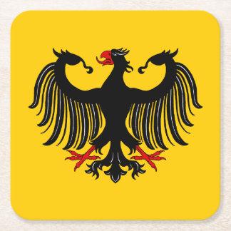 ドイツのワシ スクエアペーパーコースター