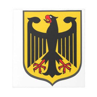 ドイツのワシ ノートパッド