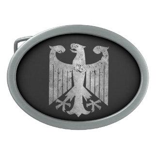 ドイツのワシ 卵形バックル