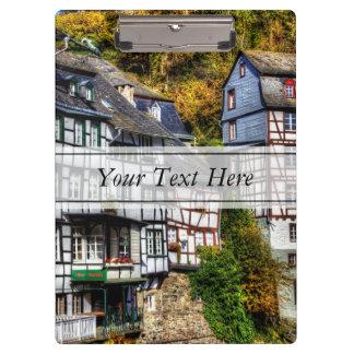 ドイツの中世村Monschau クリップボード