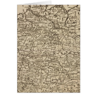 ドイツの地図 カード
