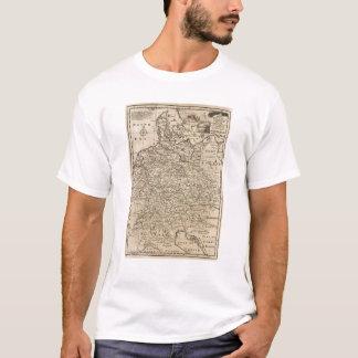ドイツの地図 Tシャツ