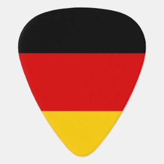 ドイツの旗が付いている愛国心が強いギターの一突き ギターピック