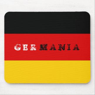 ドイツの旗のマウスパッド マウスパッド