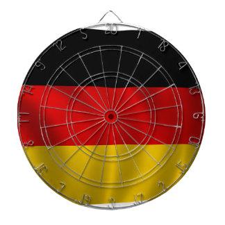 ドイツの旗の旗のドイツの記号のヨーロッパのヨーロッパ人 ダーツボード
