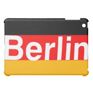 ドイツの旗の白のベルリンのロゴ iPad MINI カバー