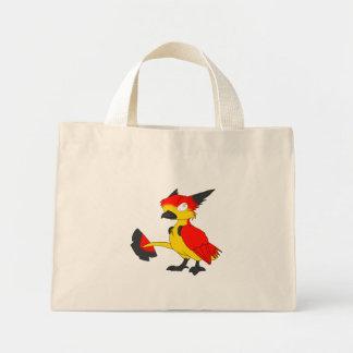 ドイツの旗色のReptilianの鳥のトート ミニトートバッグ