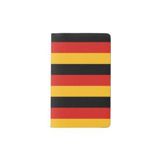 ドイツの旗色 + あなたのアイディア ポケットMoleskineノートブック