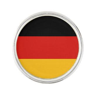 ドイツの旗色 + あなたの文字 ラペルピン