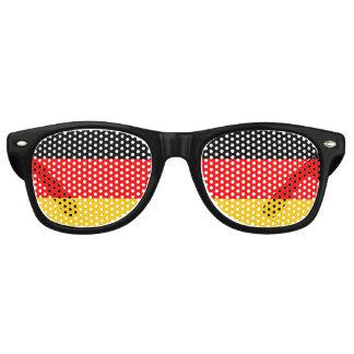 ドイツの旗、おもしろいのドイツ人の旗 レトロサングラス