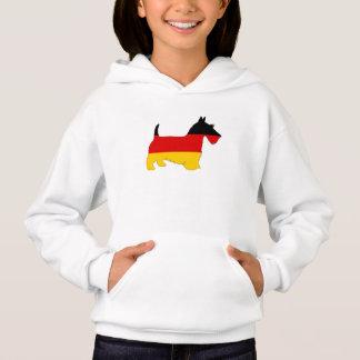 ドイツの旗-スコットランドテリア