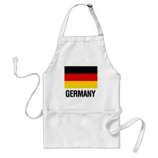 ドイツの旗 スタンダードエプロン
