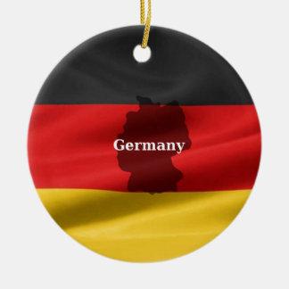 ドイツの旗 セラミックオーナメント