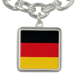 ドイツの旗 チャームブレスレット