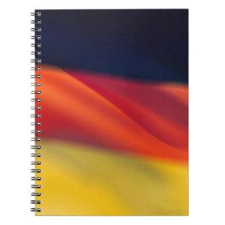 ドイツの旗 ノートブック