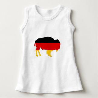 ドイツの旗-バイソン ドレス