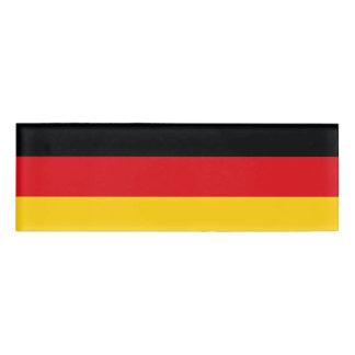 ドイツの旗 名札
