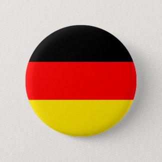 ドイツの旗 5.7CM 丸型バッジ