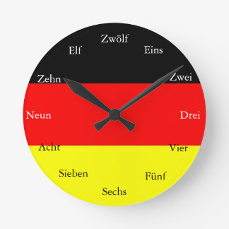 ドイツの時計 ラウンド壁時計