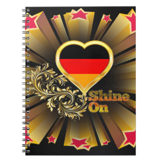 ドイツの輝やき ノートブック