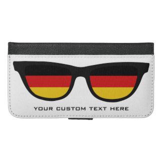 ドイツの陰の習慣のウォレットケース iPhone 6/6S PLUS ウォレットケース