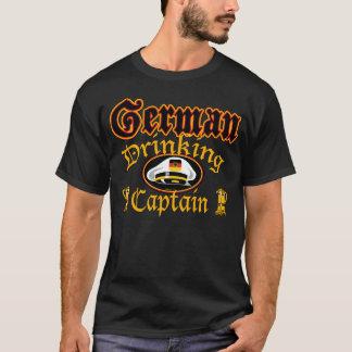 ドイツの飲むCptn Tシャツ