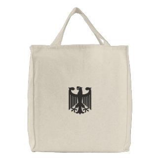 """ドイツの""""紋章付き外衣""""刺繍されたバッグ 刺繍入りトートバッグ"""