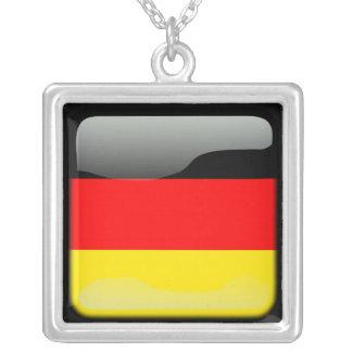 ドイツは磨きました シルバープレートネックレス