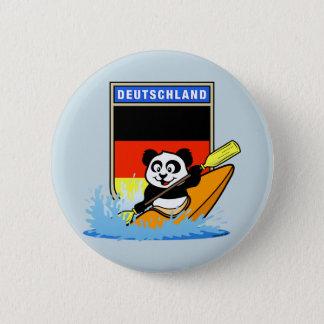 ドイツカヤックを漕ぐパンダ 缶バッジ