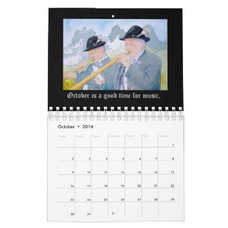 ドイツカレンダーの年 カレンダー