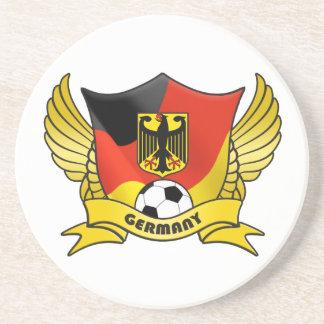 ドイツサッカーのコースター コースター