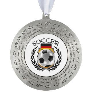 ドイツサッカー2016ファンのギア オーナメント