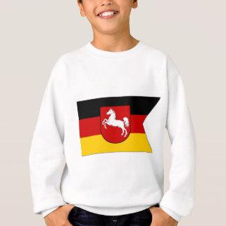 ドイツザクセン南部旗 スウェットシャツ