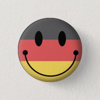 ドイツスマイリー 3.2CM 丸型バッジ