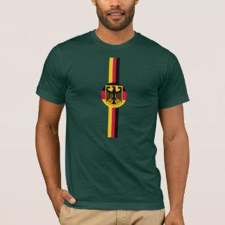 ドイツドイツFußballサッカーのオウムのTシャツ Tシャツ