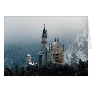 ドイツノイシュヴァンシュタイン城城 カード
